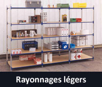 Rayonnages légers