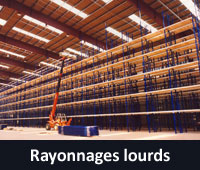 Rayonnages lourds