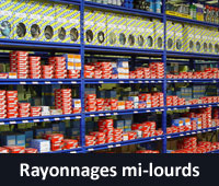 Rayonnages mi-lourds